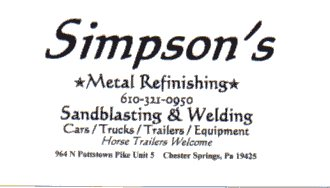 Simpson's Metal Refinishing